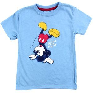 Mickey Mouse Kids Blue T-Shirt.  Toddler Sizes